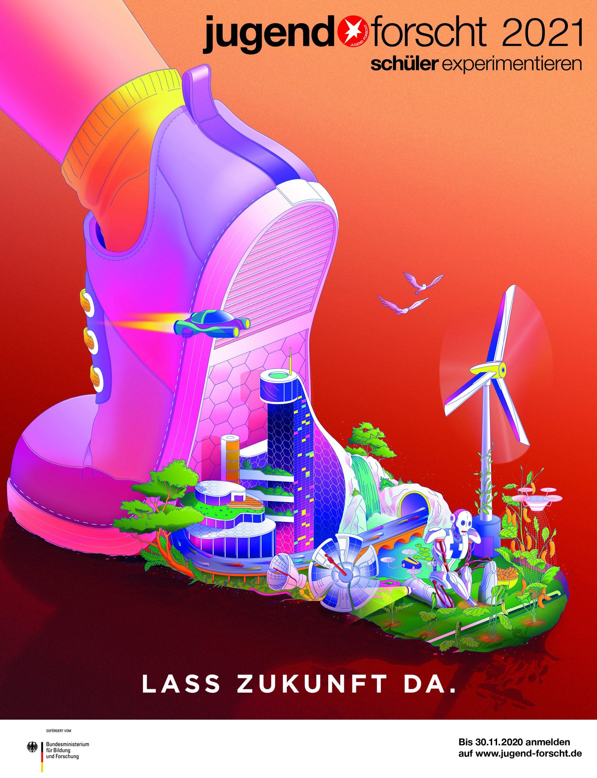 Jugend forscht Plakat 2021 scaled